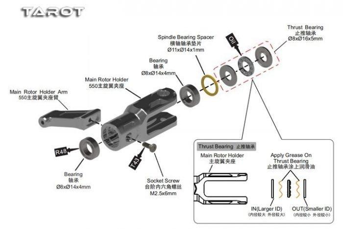 Main Blade Grip