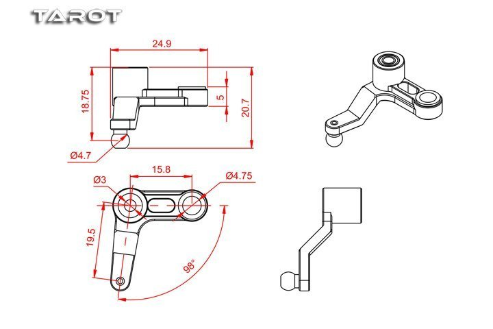 Tail Control Lever