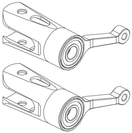 OMPHobby M1 Main Rotor Holder